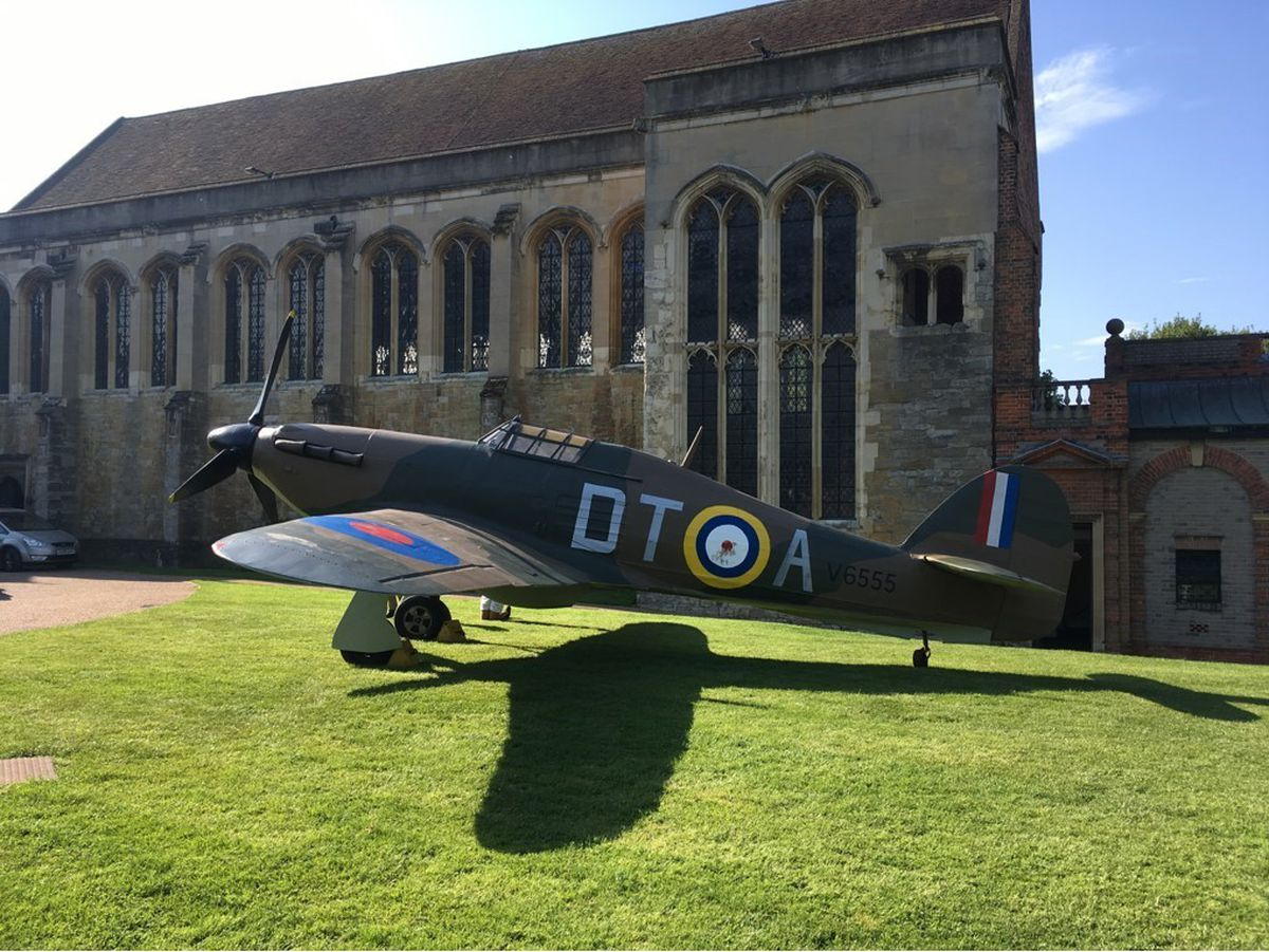 The War and Peace Battle of Britain Experience Hurricane 2 - Image Credit War and Peace Displays