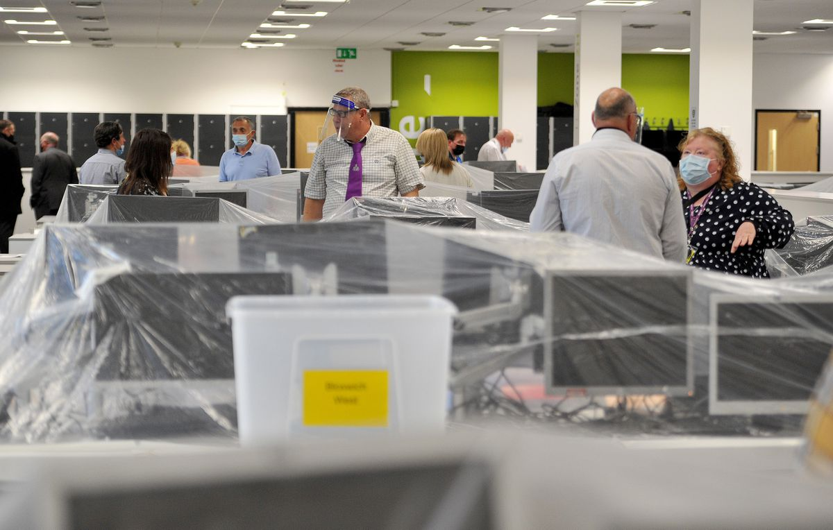 Inside the Walsall election count