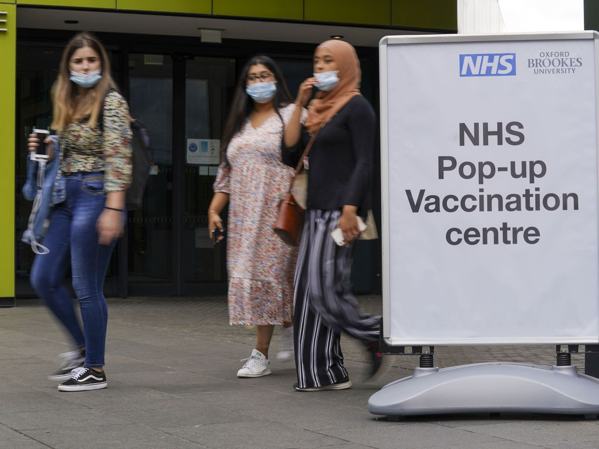 A pop-up vaccination clinic has opened at the Oxford Brookes University's Headington Campus in Oxford