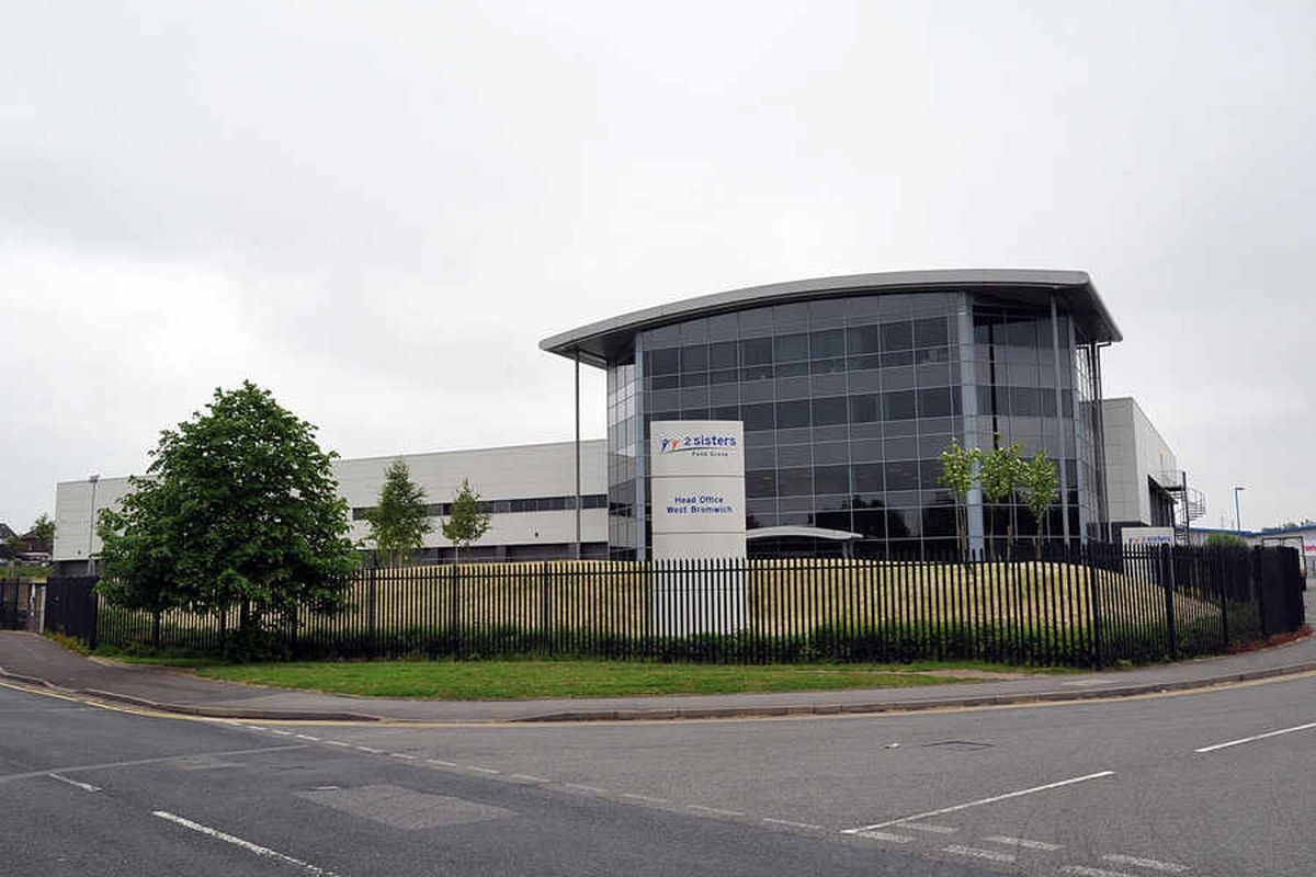 The 2 Sisters chicken processing factory at West Bromwich