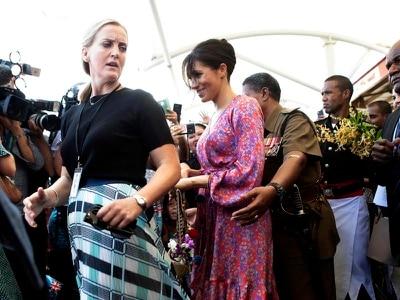 Meghan's visit to Fiji market cut short over concerns about large crowds
