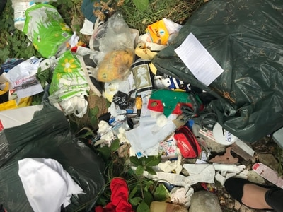Man ordered to pay £900 after waste dumped