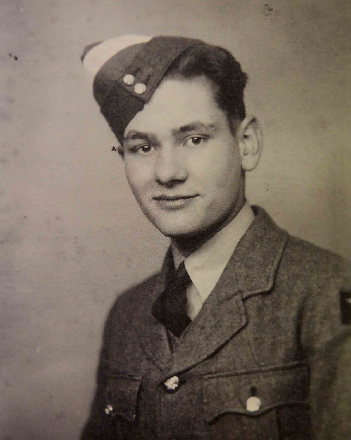 Ron Tomlin in his RAF days