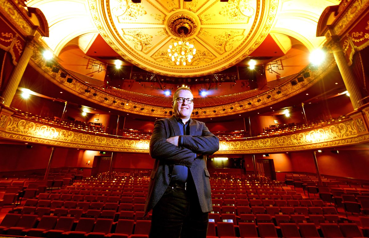 Adrian Jackson, CEO and artistic director at the Grand Theatre, Wolverhampton