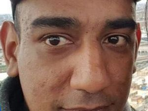 Murdered man's blood found on two suspects' trainers, jury told