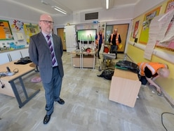 'Like déjà vu,' says head as Tipton school flood clean-up starts again