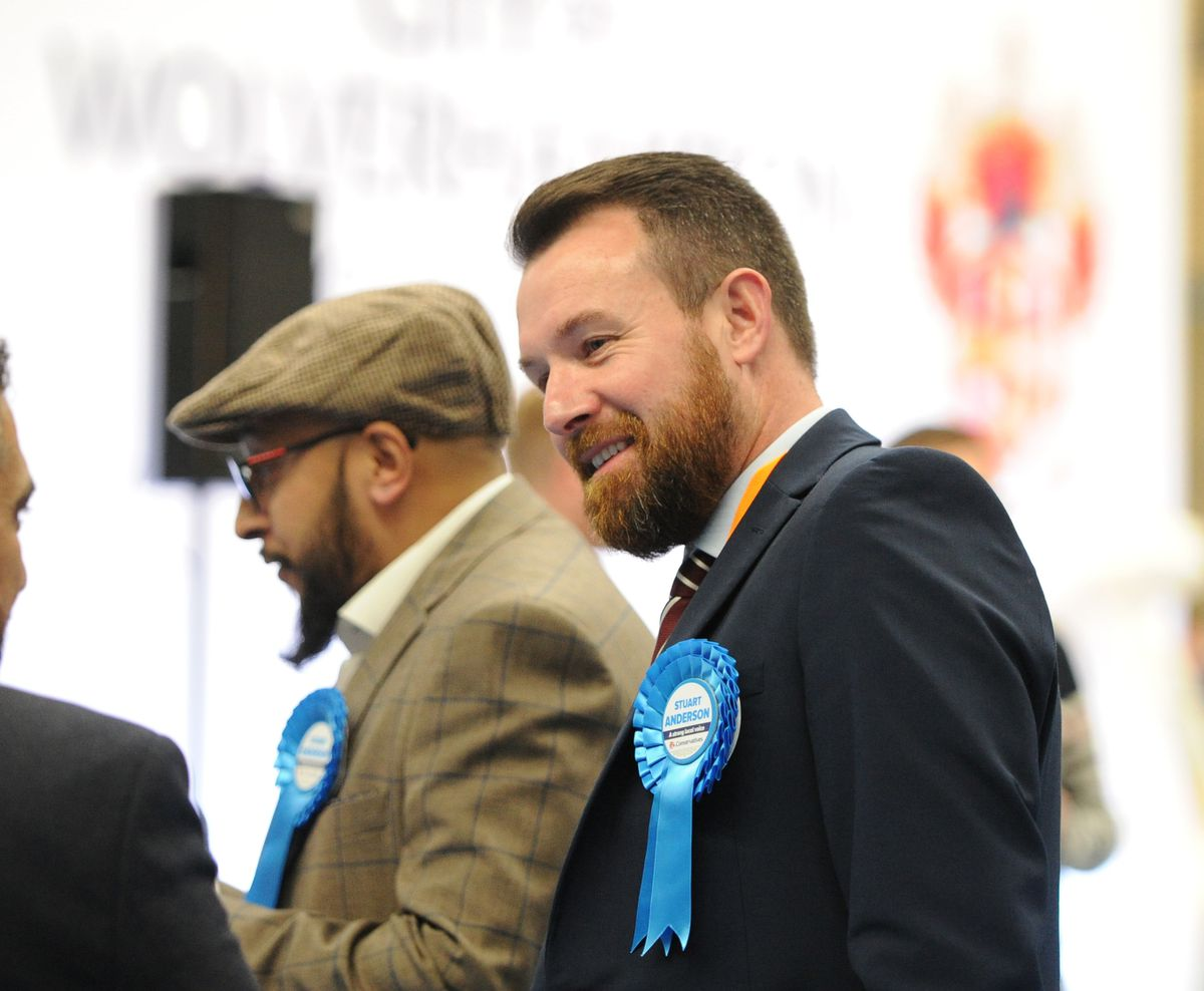 Conservative candidate for Wolverhampton South West Stuart Anderson