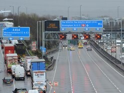M6 closed for several hours after death of man hit by lorry