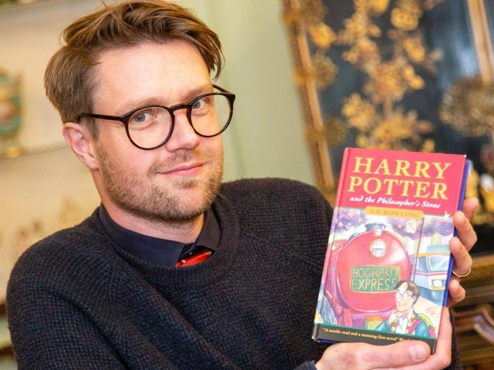 First edition Harry Potter book kept locked in a briefcase for two decades sells for £57,000 in Staffordshire