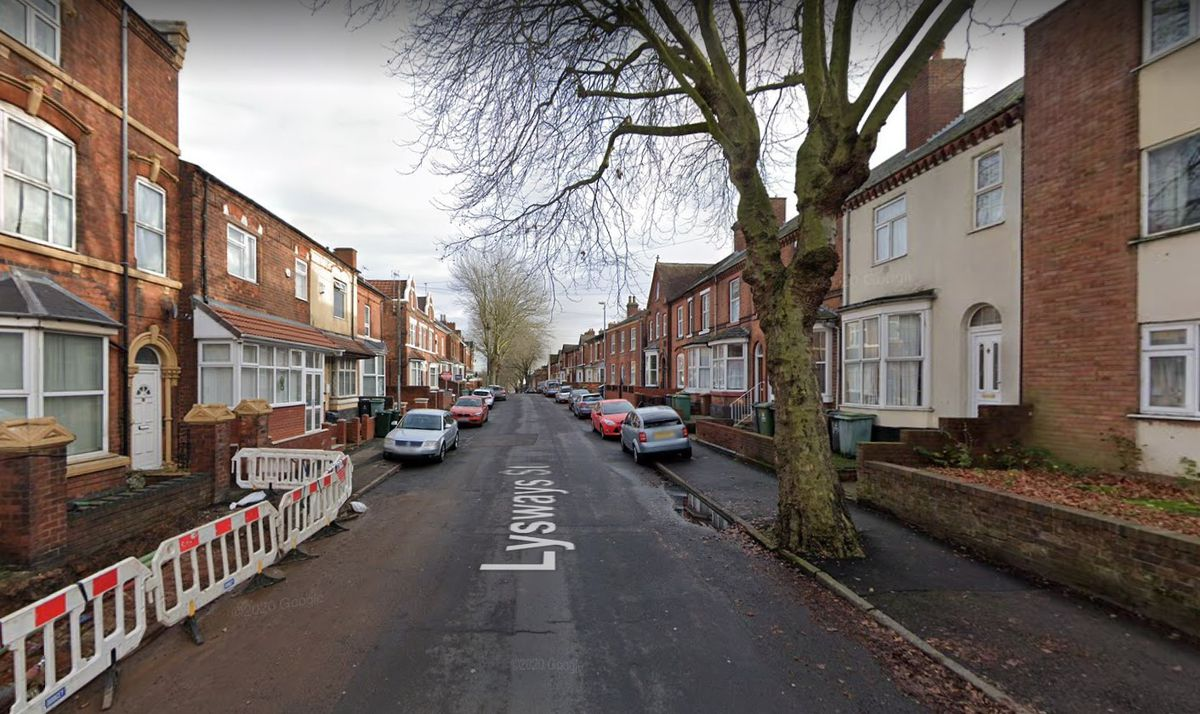 The fire happened at a property on Lysways Street in Caldmore. Photo: Google