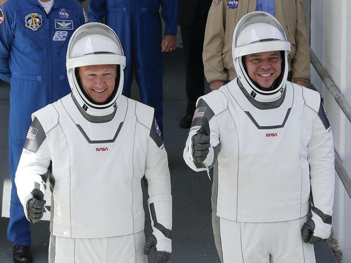 Douglas Hurley and Robert Behnken