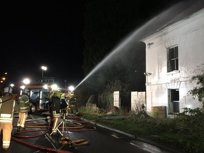 Fire rips through former swingers sex club Utopia in latest blaze