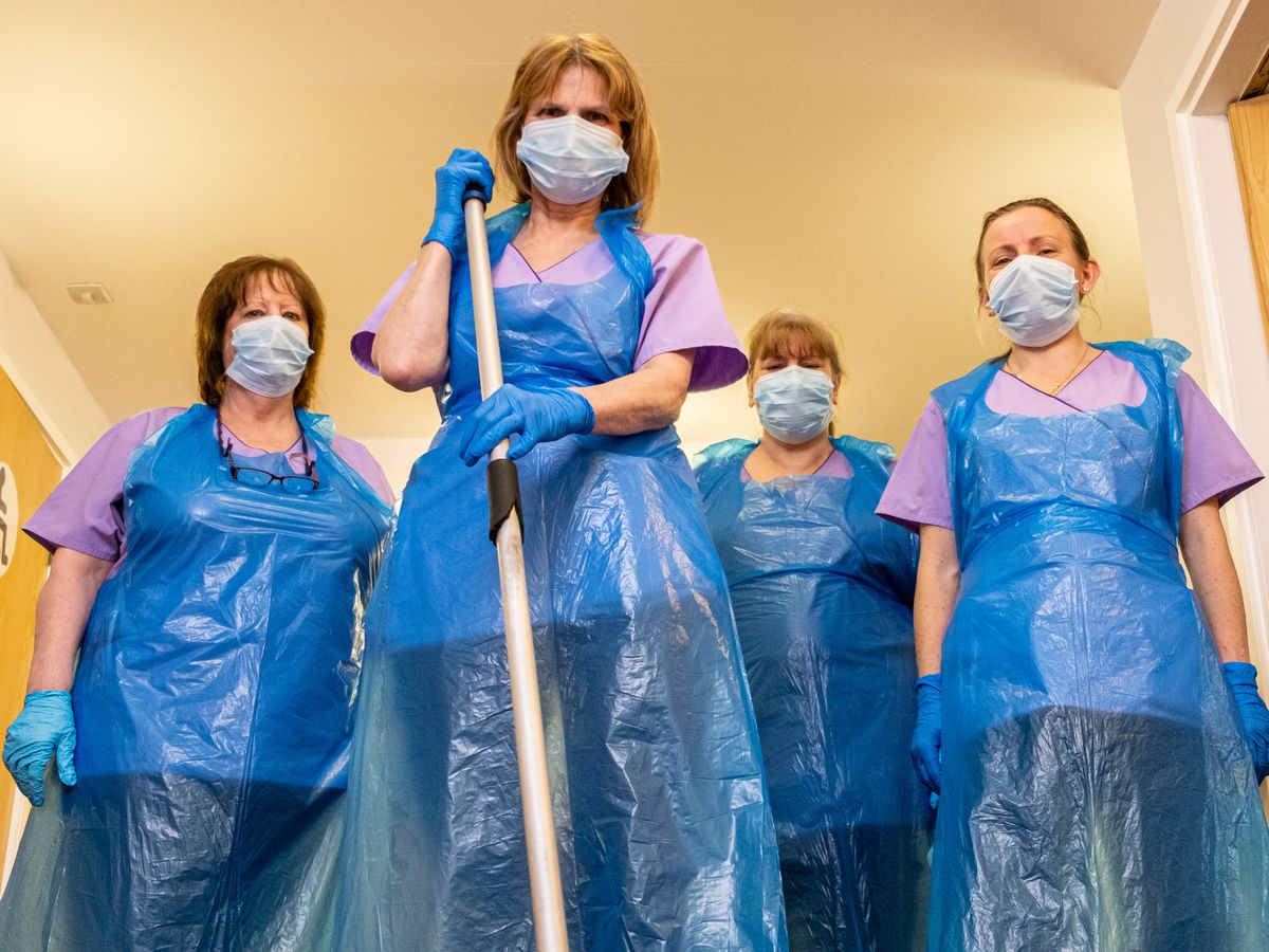 Like all hospices, Compton Care has had to adapt during the pandemic