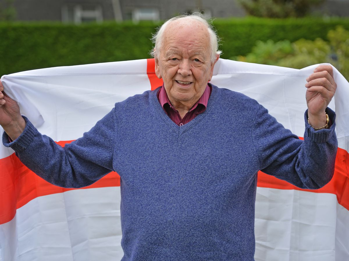 Alan Beckett was at the 1966 World Cup final