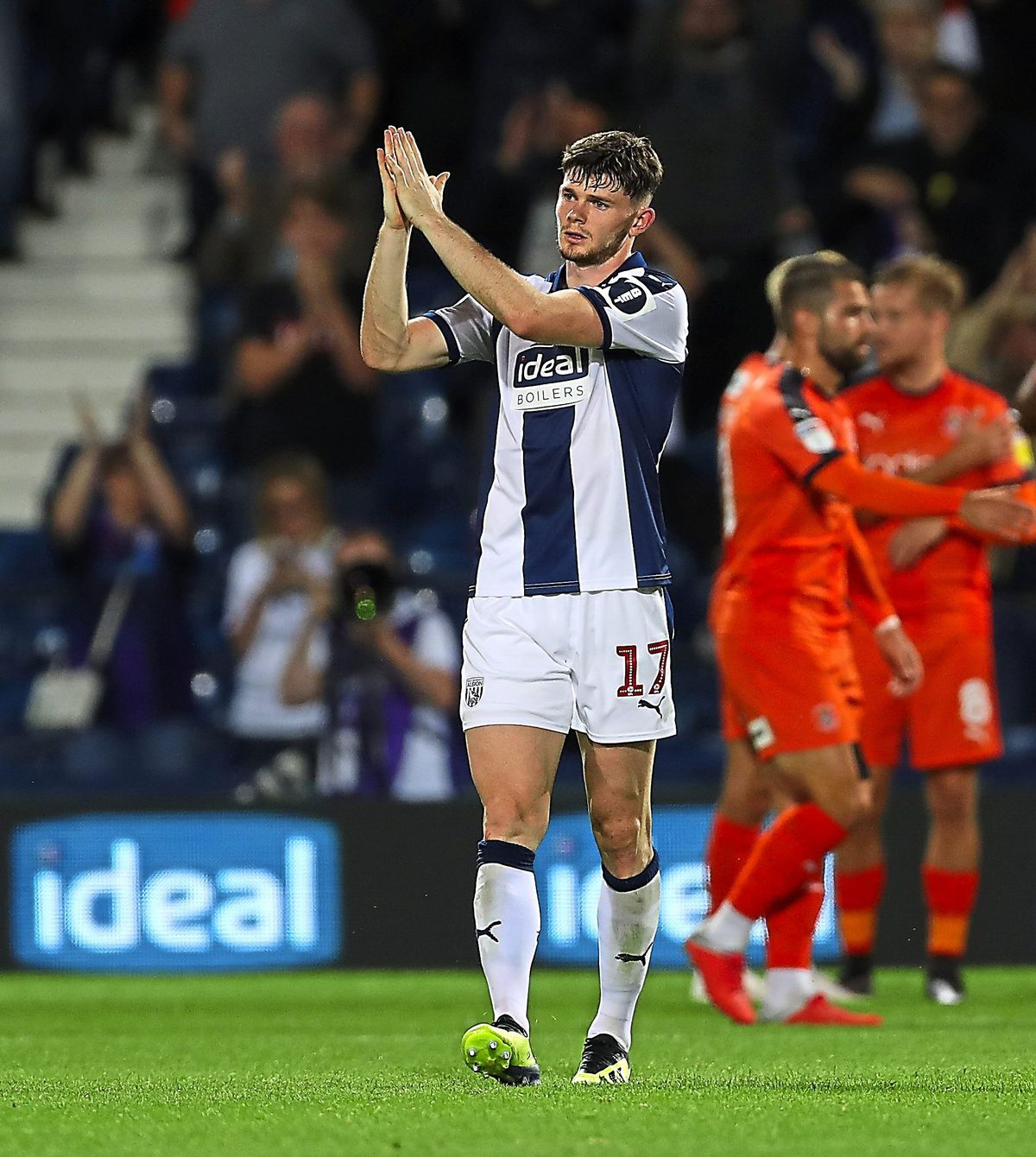 Oliver Burke has struggled for minutes at the Baggies. (AMA)