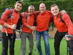 From Wolverhampton to Kathmandu as friends begin Everest charity trek
