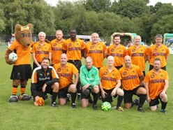 Goals galore as medics take on Wolves All Stars