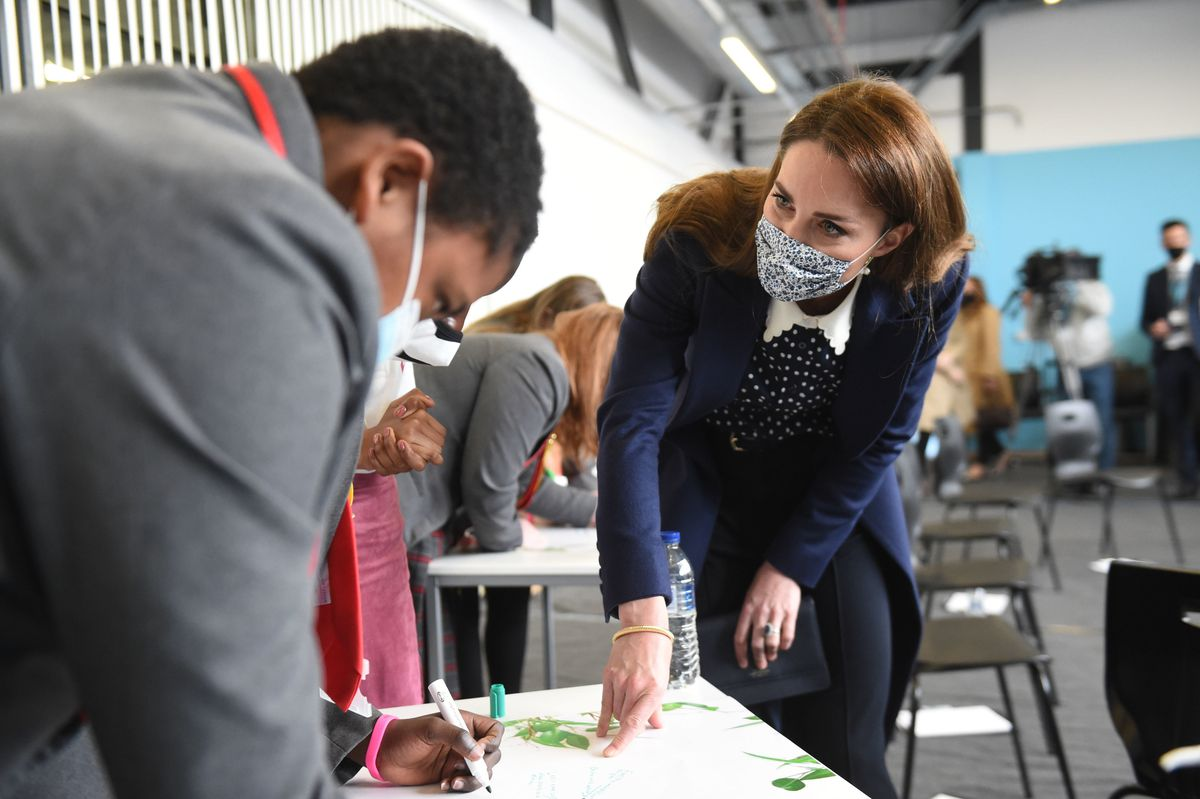 The Duchess of Cambridge at The Way Youth Zone