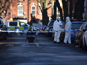 Police at the scene in Linwood Road, Handsworth