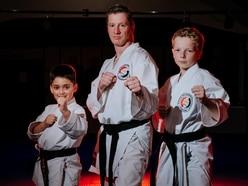 Karate students celebrate top grades
