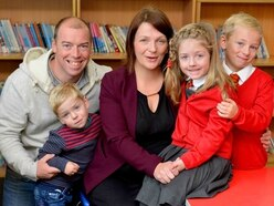 Wolverhampton family smiling again after Rosie's all clear