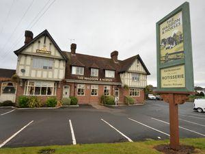 The Waggon & Horses pub, Bridgnorth Road, Wombourne