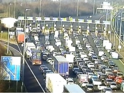 Man dies in fall from bridge on M6 toll
