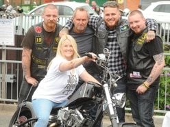 Bikes and bikers descend on Stourbridge for charity event
