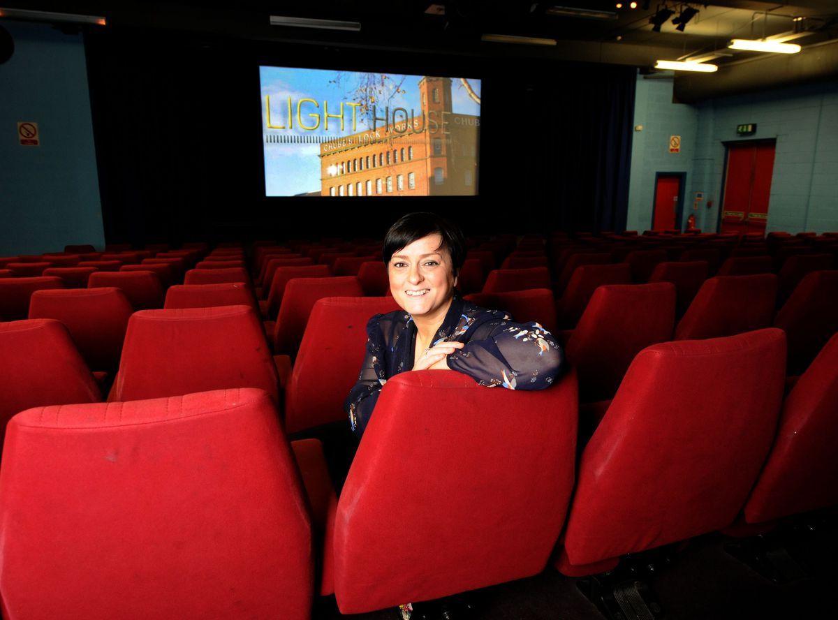 Kelly Jeffs, who is the chief executive of the Light House cinema, is celebrating a rise in ticket sales