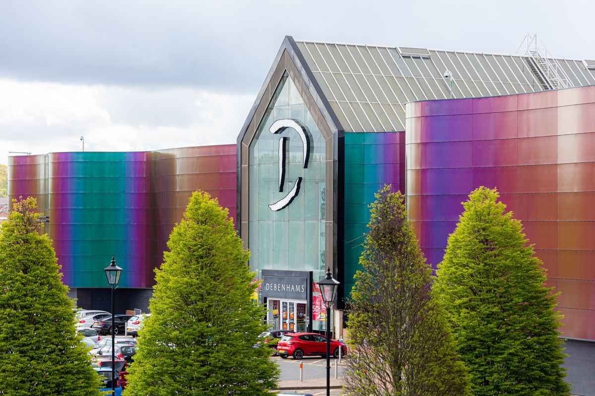 Debenhams at Merry Hill is closing for the final time