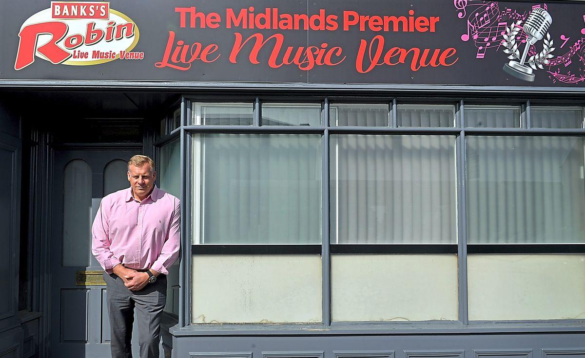 Fraser Tranter, owner of The Robin 2, in Bilston