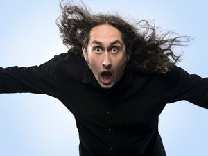 Ross Noble is back in the region with his Humournoid tour