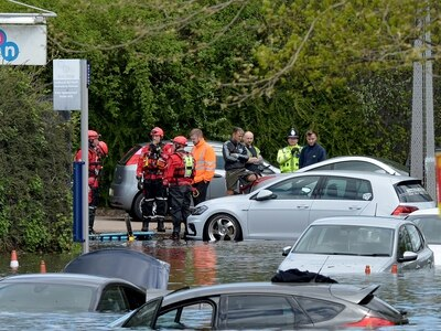 Wednesbury flood: Water levels drop as emergency work continues