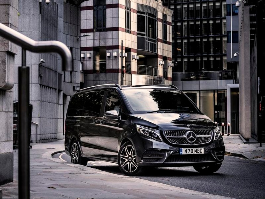 First Drive: The Mercedes-Benz V-Class is a high-end MPV option