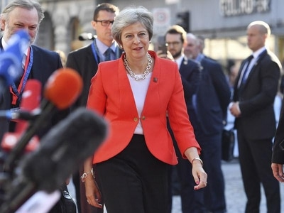 What are Theresa May's options after Salzburg?
