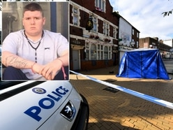 Alleged murderer drank 10 pints of lager in hours before stabbing