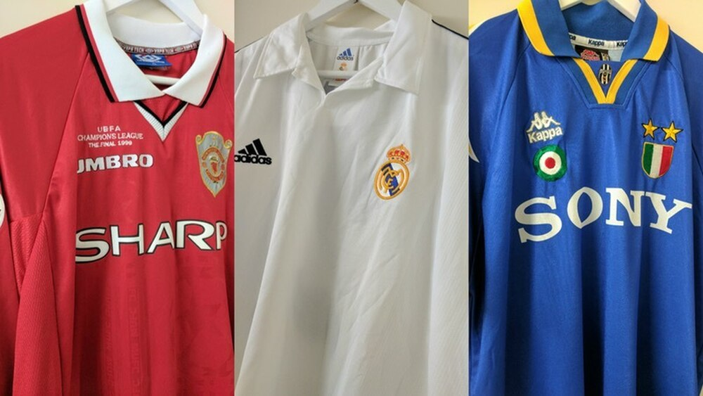 fe1a9da47a2a9 The Champions League final is European football's showpiece event, and the  kits worn in them become sewn into the collective footballing consciousness.