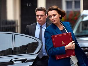 The stars of Bodyguard - Richard Madden and Keeley Hawes