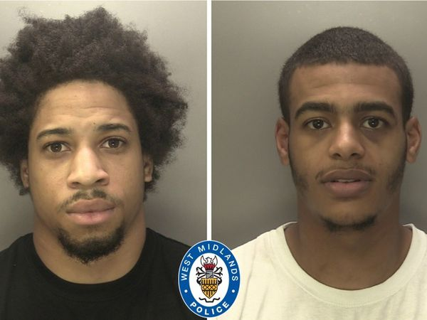 L-R Garrick and Anderson have been jailed for more than 20 years