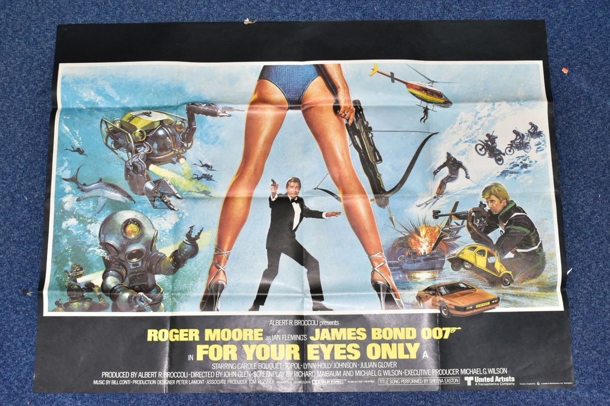 The poster from For Your Eyes Only