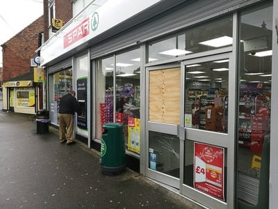 Have-a-go heroes praised for foiling robber's bid to escape Gornal Spar raid