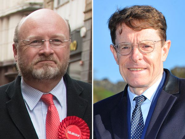 Liam Byrne, left, and Andy Street, right are representing Labour and the Conservatives in the West Midlands Mayor election