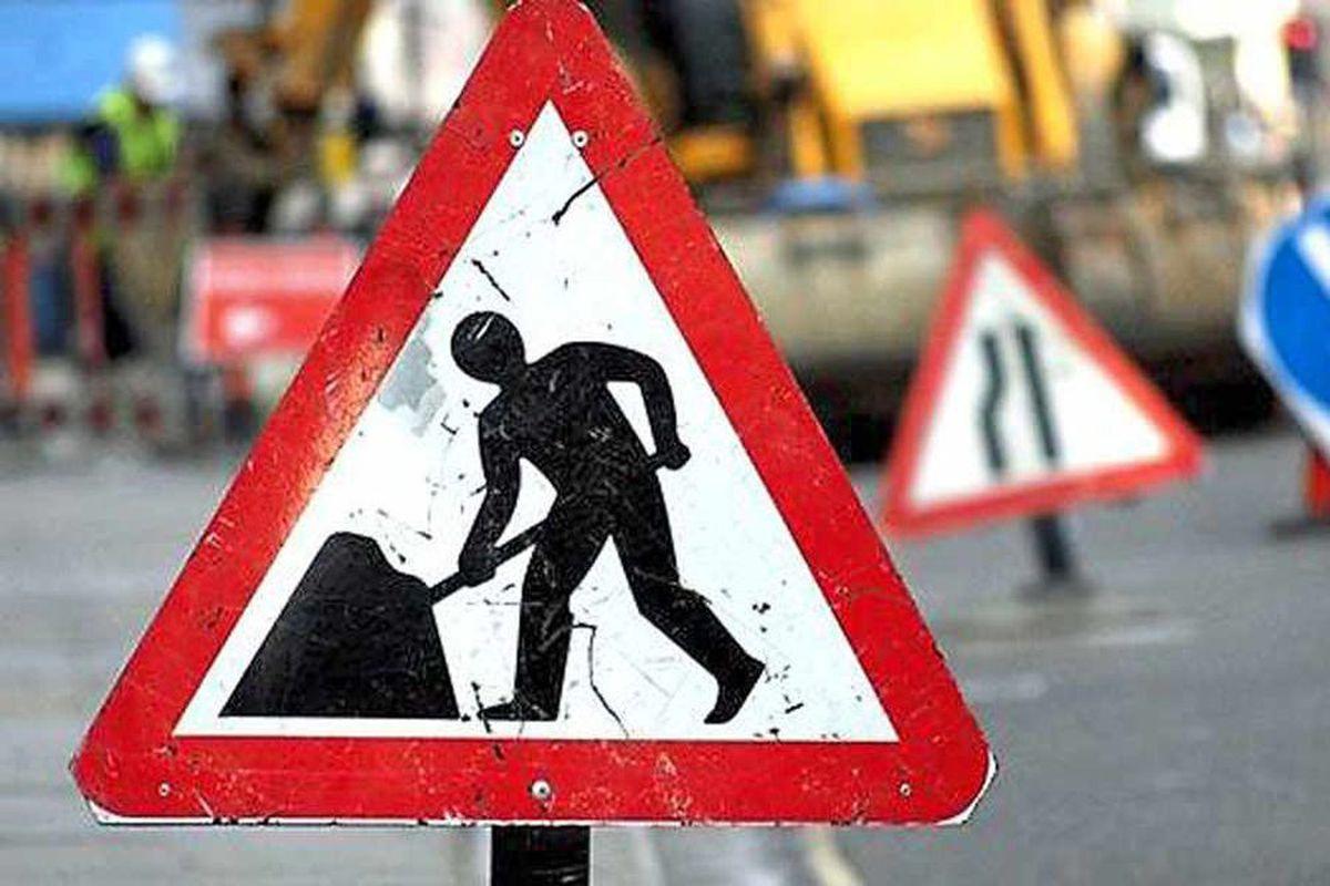 Roadworks have caused misery.
