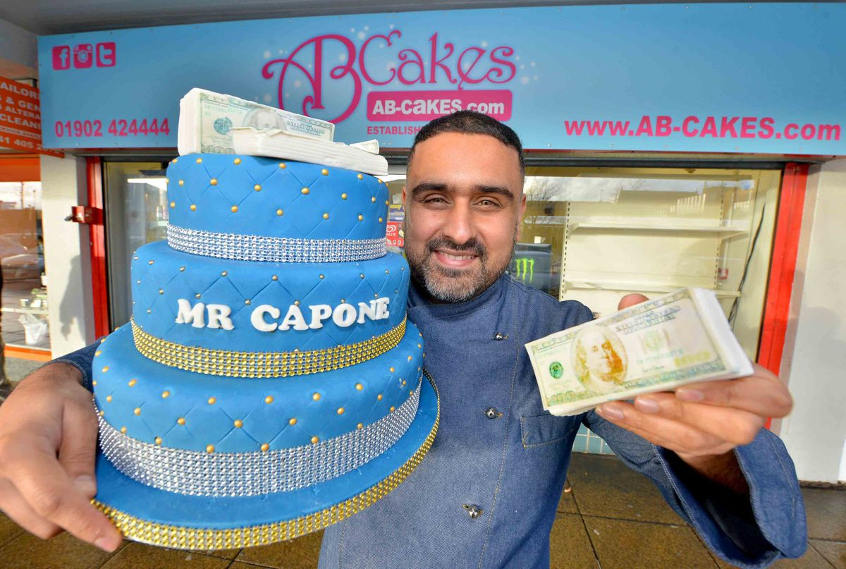 Paz has developed a reputation for stunning designs, such as this cake for LA rapper Mr Capone