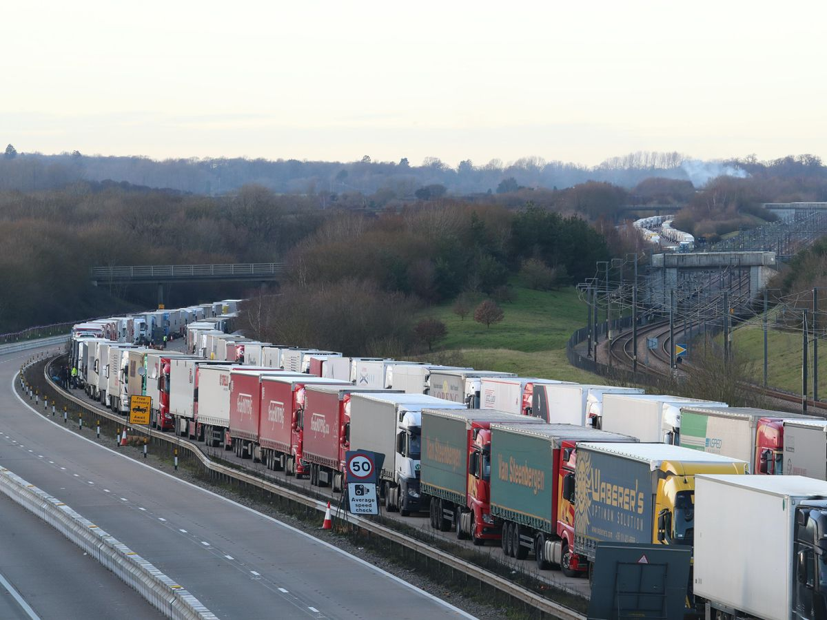 New rules for lorry drivers heading for the EU via Kent from January 1