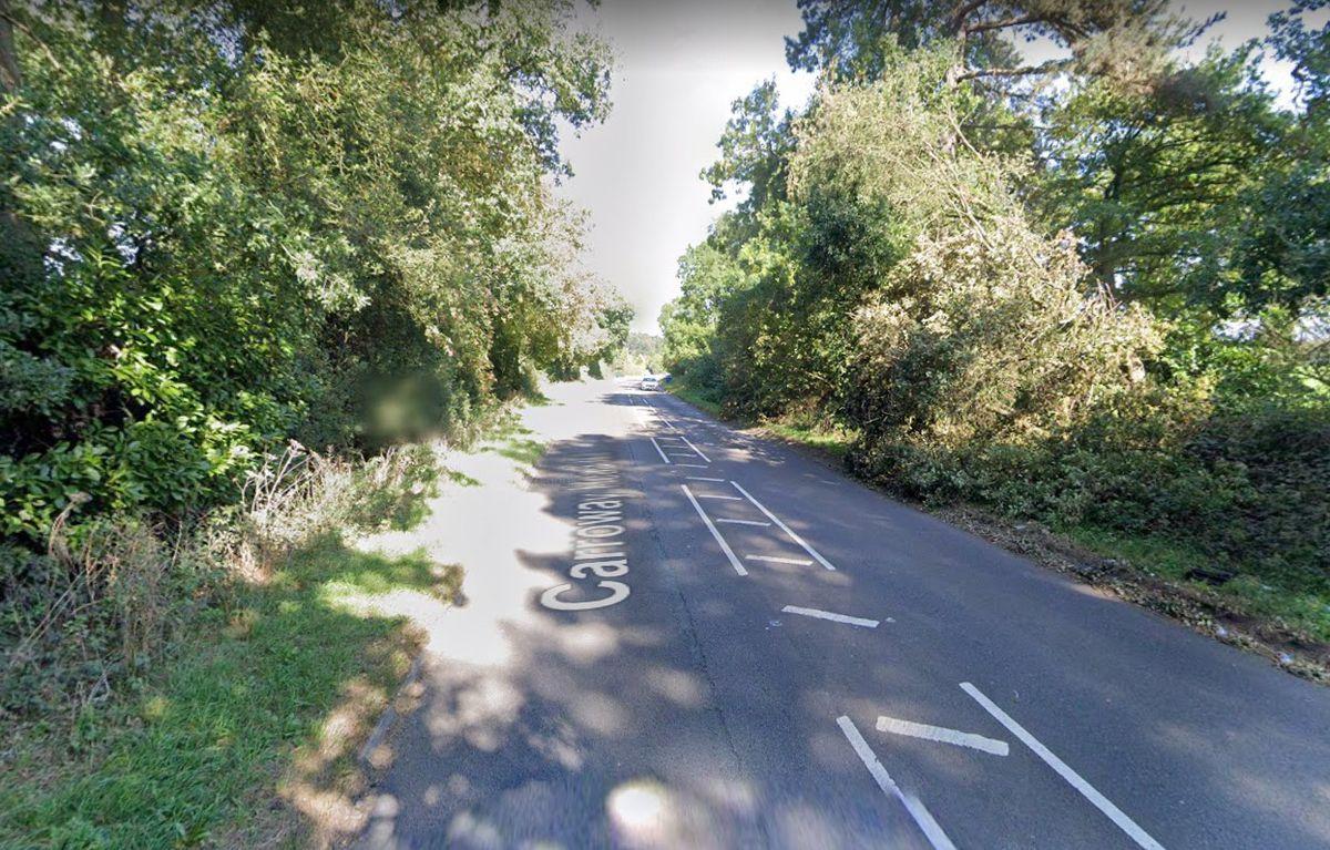 Carroway Head Hill, near Sutton Coldfield. Photo: Google Maps