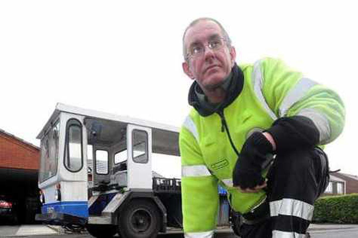 Glyn's Dudley potholes and stray horses misery