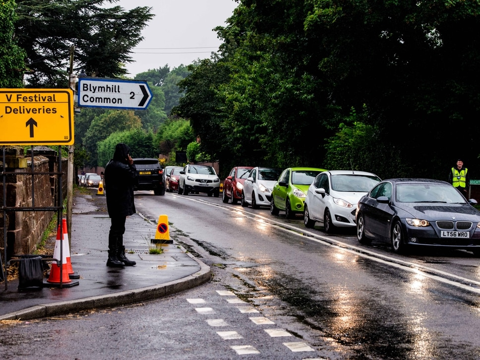 V Festival: Heavy traffic expected