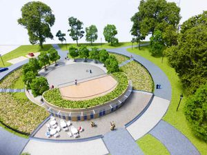 A new pavilion in West Smethwick park is part of £5.2 million refurbishment. Photo: Sandwell Council