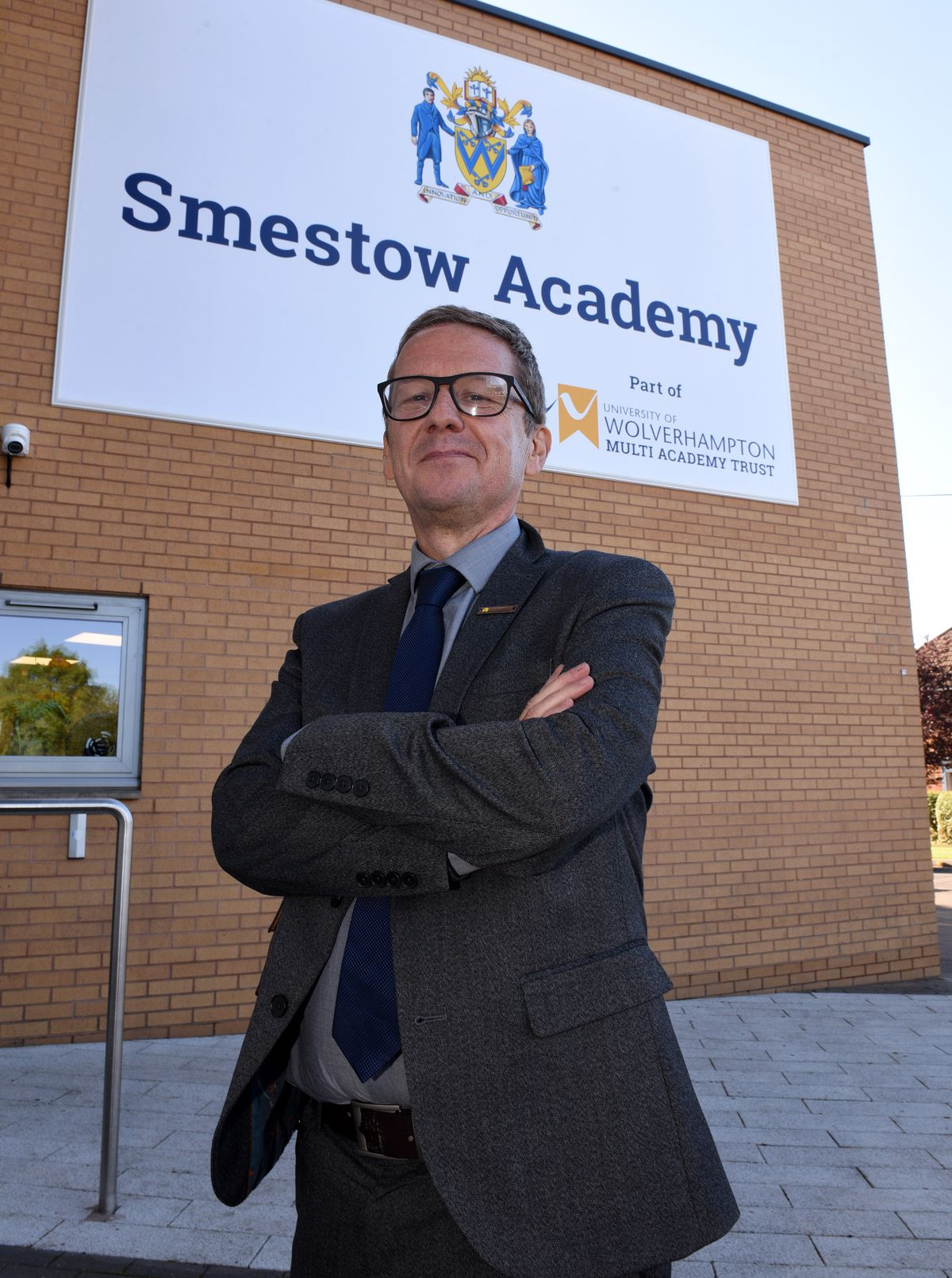 Clive Jones is proud of the work done to turn the school's fortunes around